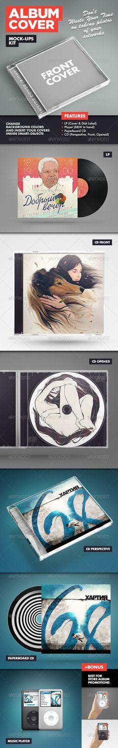 Album Cover Mock-Ups Kit Download here: https://graphicriver.net/item/album-cover-mockups-kit/3080834?ref=KlitVogli