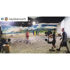 @kaylabanwarth promoting the U.S. Women's National Team at @nbcolympics / @teamusa promotional shoot on Thursday in West Hollywood. Way to represent Team USA Kayla. #RoadToRio #rumbleinrio #huskers #huskersvball #GBR by #usavolleyball http://ift.tt/218o0QU