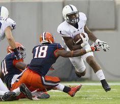 PENN STATE – FOOTBALL 2013 – Penn State running back Bill Belton during the third quarter at MetLife Stadium.