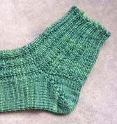 Sock loom pattern