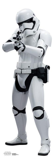 Star Wars 7 The Force Awakens Stormtrooper Standup - 6' Tall from BirthdayExpress.com