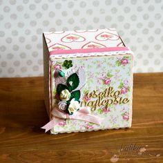 Exploding box pre mamku / Exploding box - gift for mum