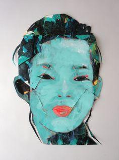 New Blood Art | Vert by Tadeusz Bilecki | Buy Original Art Online | Artworks by Emerging Artists for Sale Blood Art, Art Online, Artworks, Original Art, Paintings, Artists, Illustration, People, Stuff To Buy