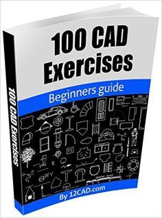 100 CAD Exercises - Learn by Practicing!: Learn to design and Models by Practicing with these 100 CAD Exercises! , 100 CAD Exercises - Learn by Practicing!: Learn to design and Models by Practicing with these 100 CAD Exercises! Mechanical Engineering Design, Mechanical Design, Civil Engineering, Bloc Autocad, Autocad 2016, Electrical Engineering Books, Learn Autocad, Solidworks Tutorial, Cad Software