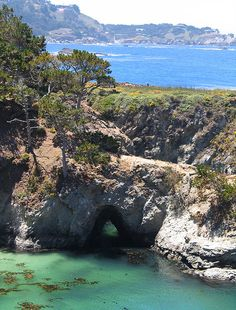 Point Lobos, Monterey Bay, California - this place is one of the most spectacular places where land meets the ocean.