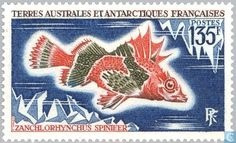 Postage Stamps - French Southern and Antarctic Lands - Fish