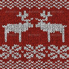 Illustration of Christmas background jumper with reindeers vector art, clipart and stock vectors. Tacky Christmas Sweater, Christmas Jumpers, Knitting Charts, Knitting Patterns, Loom Knitting, Knitting Stitches, Banner Printing, Christmas Background, Tejidos