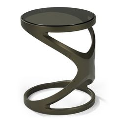 The FLUX Ring Drink Table is truly a masterful design - an up-to-the-minute addition to any stylish environment, indoors or outdoors. Viewed from all angles it exudes modernism in its artistic form and classical structure. At 20 inches high and 16.5-i