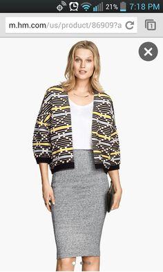 H&M textured sweater