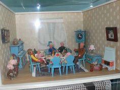 Puppenstube mit Original-DORA-KUHN-Möbeln und CACO-Biegepuppen in Bayern - Hof   Weitere Spielzeug günstig kaufen, gebraucht oder neu   eBay Kleinanzeigen
