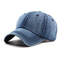 0d12b3f89801d Retro Washed Cotton Cowboy Baseball Cap Travel Casual Sunscreen Hat For  Women Men