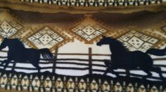 Southwestern with horses beautiful colors - pinned by pin4etsy.com