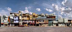 Dionisio Gonzalez - favelas series 2004-2007- NOVA-HELIOPOLIS IV