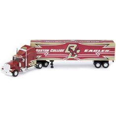 Boston College Eagles 1:80 2007 Peterbilt Tractor Trailer Z157-8287056154