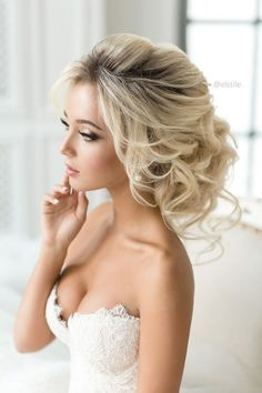 86 cool wedding hairstyles for the modern bride - Hairstyles Trends Wedding Hairstyles For Long Hair, Loose Hairstyles, Elegant Hairstyles, Bride Hairstyles, Vintage Hairstyles, Ball Hairstyles, Hairstyle Ideas, Perfect Hairstyle, Shaved Hairstyles