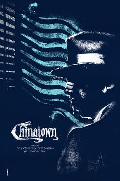Movie Poster Movement — Chinatown by Daniel Norris