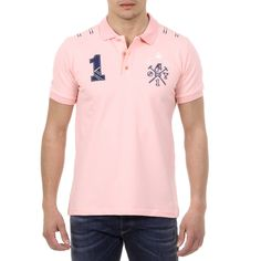 Color: Pink Size: L Made of: 95% COTTON 5% ELASTANE Details: US008 PINK – Color: Pink – Composition: 95% COTTON 5% ELASTANE – Sleeve: Short Sleeves – Fit: Regular – Closure: Button Closure – Made: TURKEY – Front Logo Le Polo, Mens Sleeve, Polo Club, Pink Color, Looks Great, Polo Ralph Lauren, Short Sleeves, Shorts, Cotton