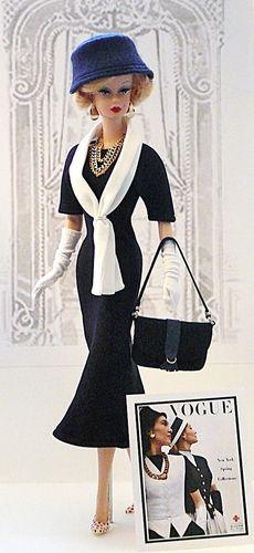 Harpers Bazaar & Vogue. Fashion Designs Inspired by Vintage Magazines