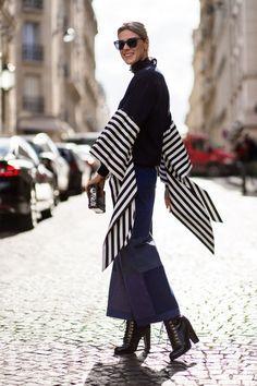 Street style from Paris fashion week autumn/winter '16/'17 - Vogue Australia