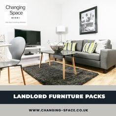 Changing Space is a leading manufacturer that provides the best at competitive market prices. Changing Spaces, Furniture Packages, Being A Landlord, Cool Furniture, Packing, Table, Home Decor, Bag Packaging, Decoration Home