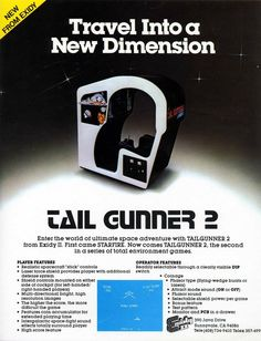 Tail Gunner 2 by Exidy - 1980