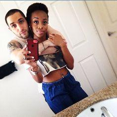 Cute interracial couple #love #wmbw #bwwm