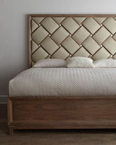 """""""Woodmoor"""" Bedroom Furniture at Horchow. This is neat. Bedroom Furniture Design, Headboard Designs, Headboards For Beds, Sofa Design, Bed Furniture Design, Bed Back Design, Bedroom Bed Design, Bed Headboard Design, Bedroom Headboard"""