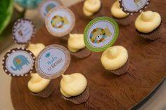 Boys Jungle Themed First Birthday Cupcake Food Ideas