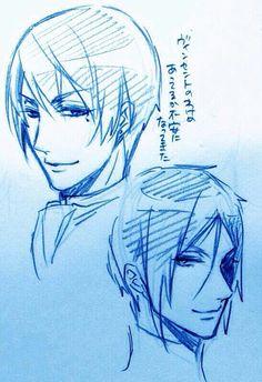 Toboso's sketches