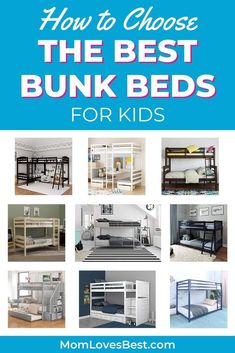Selecting the best bunk beds for kids can be no sweat. We'll help you in your decision-making process and walk you through your purchase. #cribs #cribbedding #swaddling #swaddle #swaddleblanket #bassinet #babysleep #babysleeptips #babysleepschedule #babysleeptraining Cool Bunk Beds, Kids Bunk Beds, Baby Sleep Schedule, Baby On A Budget, Kids Room Furniture, Sleeping Through The Night, Kids Pillows, Birthday Gifts For Girls, Swaddle Blanket