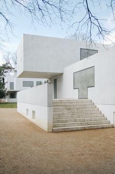 Walter Gropius House in Dessau reconstructed by Bruno Fioretti Marquez