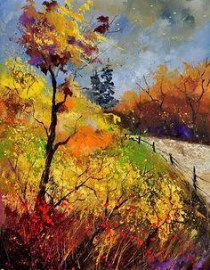 Autumn Painting - Autumn 454111 by Pol Ledent