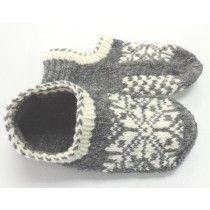 Uppsala Slippers - Briggs and Little Tuffy free pattern