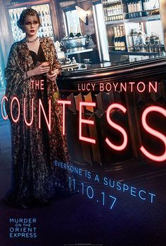Lucy Boynton is The Countess
