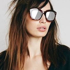 ❤️BOGO❤️New Free People Mirrored Square New without tag. All sunglasses buy one get one free! Free People Accessories Sunglasses