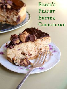 Reeses peanut butter cheesecake is  an addictive sweet and salty combo that will rock your world. Twice.| Restlesschipotle.com