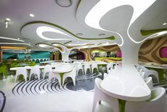 karim rashid: foodcapital food lounge, seoul, south korea