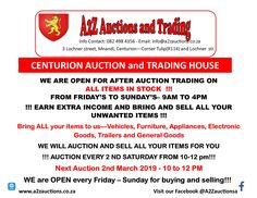 Next Auction- See you there!