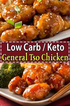 Low Carb Chicken Recipes, Healthy Low Carb Recipes, Low Carb Keto, Diet Recipes, Steak Recipes, Healthy Chinese Recipes, Cooking Recipes, Flour Recipes, Snacks Recipes
