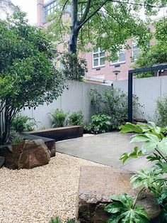 Pebble Garden, Garden Art, Home And Garden, Dutch Gardens, Small Gardens, Outdoor Living, Outdoor Spaces, Backyard Patio Designs, Small Garden Design