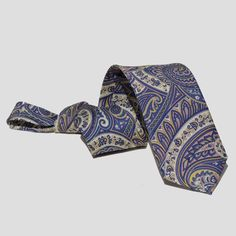 Corbata Azul Cachemir
