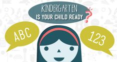 Is your child ready for kindergarten? Basic benchmarks to look for, and some tips to help prepare kids to start school. Always Learning, Early Learning, Fun Learning, 3rd Grade Activities, Fun Activities, Pre Kindergarten, School Readiness, Early Literacy, Home Schooling