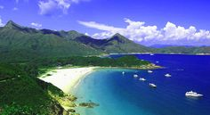 Must go when move to HK! Beach of the Week: Tai Long Wan, Hong Kong Great Places, Places To See, Hong Kong Beaches, Beach Tops, China Travel, Macau, Beach Travel, Vacation Spots, Beautiful Beaches
