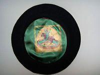 Vintage Wool Spanish Matador Bull Fighter Beret