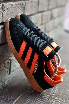 2521cc45 Adidas spezial мужские кроссовки черные с оранжевым в фирменной коробке  купить в Хмельницком в интернет магазине, цена - 1195 грн.