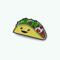Taco pin from @freshprintsstudio  Don't put it in your mouth only your lapel... Get it through their online store!  #taco #tacos #tacolove #munchies #illustrator #illustration #design #designer #art #artist #graphicart #graphicartist #graphicdesign #pin #pins #enamelpin #enamelpins #lapelpin #lapelpins #pingame #pintrill #pinlife #pinlord #patchgame #hatpin #hatpins #softenamel #pinsofig #stickerart by pin_lord