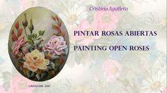 Como pintar rosas abiertas con la técnica multicarga.En este trabajo representamos rosas, un instante antes de empezar a perder sus pétalos, el último instan...