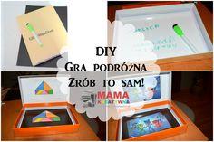 gra podróżna DIY zrób to sam dla dzieci zabawa gra puzzle układanki tablica magnetyczna podróż