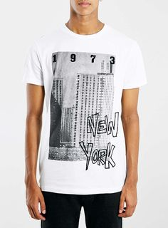 SYSTVM White T-Shirt* - Men's T-Shirts & Vests - Clothing - TOPMAN EUROPE