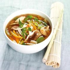 Asiatische Gemüsesuppe | Weight Watchers